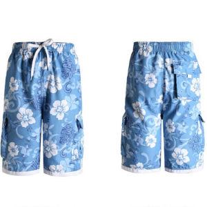 La scheda di nuoto stampata Mens mette i pantaloni in cortocircuito di /Beach