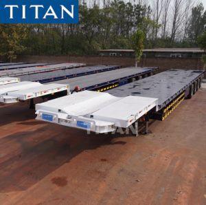 Ausdehnbarer niedriger der Ladevorrichtungs-40t Schlussteil des Titan-60FT halb für Windblade Transport