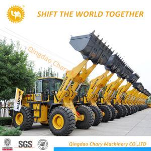 De Op zwaar werk berekende Machine van de bouw de Lader van het Wiel van het VoorEind van 5 Ton
