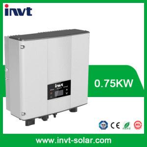 Omschakelaar van de ZonneMacht van de Enige Fase van Invt 0.75kw/750W de net-Gebonden