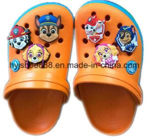 cadeau de promotion de la décoration de jardin pour enfants du caisson de nettoyage des accessoires de mode Charmes de chaussures en PVC