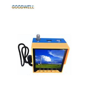 Saída HDMI Monitor LCD de 3,5 polegadas Localizador de Satélite Digital