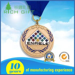 卸売のためのDelicatedのロゴの製造者によってカスタマイズされる亜鉛合金メダル