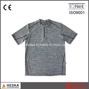 Trui om Melange de T-shirt van Mens van de Kleur