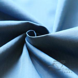 50d 320t tecidos Plaid 100% poliéster Jacquard Pongées Fabric (53205C)