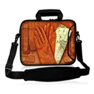 ネオプレンのラップトップの袖の15.6のコンピュータのメッセンジャー袋10 11.6 13.3 14 15.4 17.3インチの肩のラップトップ袋のハンドルのパソコンの保護箱