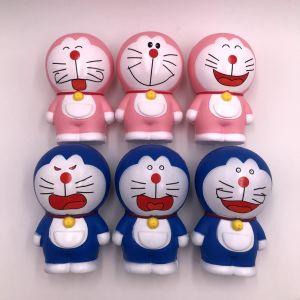 Jingle Cat Squishy lent à la hausse du père noël et bonhomme de neige le soulagement du stress des jouets pour enfants cadeau