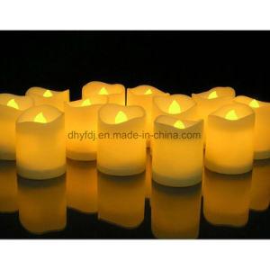 Funcionamento da bateria Flameless levou a luz de velas de cera de parafina velas LED// chá LED Light