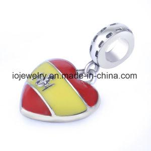 Charme van de Vlag van de Douane van het Metaal van de Fabriek van de Juwelen van China de In het groot