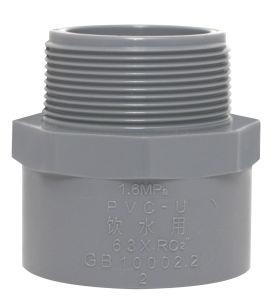 Garnitures grises de PVC pour l'approvisionnement en eau