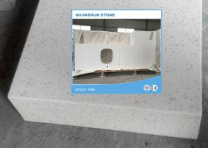 Wit Kwarts Geprefabriceerd huis Gelamineerde Benchtops voor het Ontwerp van de Keuken
