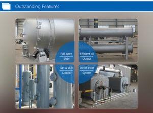 Usine de pneus de déchets à l'huile avec la CE, SGS, l'ISO