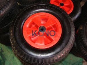 4.00-8 플라스틱 변죽을%s 가진 압축 공기를 넣은 바퀴