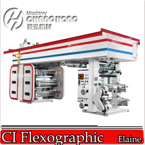 6 colores Película de plástico Máquinas y equipos (CH886)