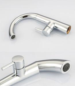 工場供給の単一のレバーの熱い冷水の洗面器の蛇口、1個の穴の洗面器の蛇口