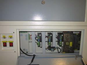 モーターを備えられた仕事台が付いている趣味の使用50W DIYレーザーのカッター
