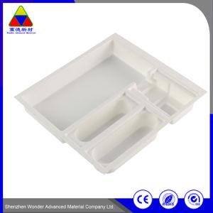 透過カスタムまめのプラスチック包装ボックス耐久のプラスチック皿