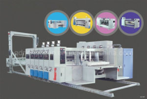 자동적인 Flexo Carton Box Making 및 Slotting Print Machinery