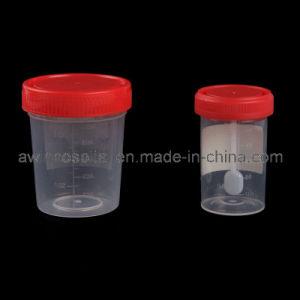 Одноразовый PP материала больницы 30мл/40мл/60мл/120мл мочи контейнер