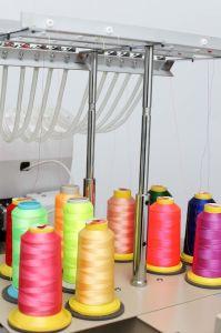 単一ヘッド9/12/15カラー大きい刺繍のサイズの産業刺繍機械