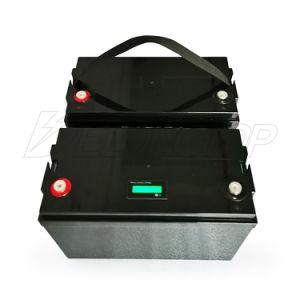 Batería recargable de litio de 12V 100Ah batería de fosfato de hierro con BMS