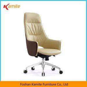 Longjiang Foshan Muebles de oficina ergonómico del apoyabrazos de respaldo alto ejecutivo de cuero sillas de oficina con ruedas