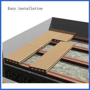 環境に優しい連結によって容易インストールされる木製のプラスチック合成の空のDecking