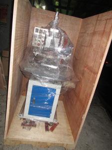 가죽에 회전하는 테이블 압축 공기를 넣은 최신 각인 기계