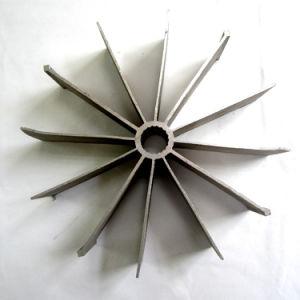 Alliage d'OEM 6061 / 6082 / 6063 / 6005 Aluminium extrudé Profils industriels