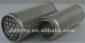Tubo del filtro a sipario