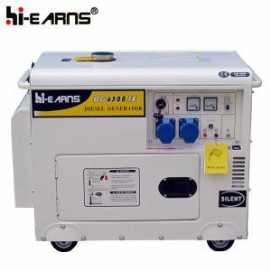5kw de stille Reeks van de Generator van de Macht van de Dieselmotor van het Type (DG6500SE)