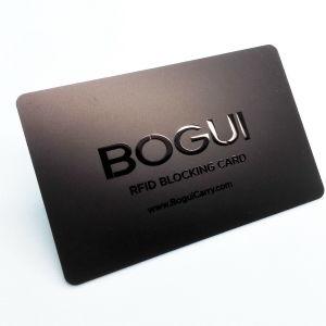 낮은 MOQ는 카드를 막아 신용 카드 차단제 RFID를 장악한다