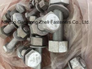 ASTM A325 assemblent des boulons, des noix et des rondelles