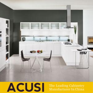 Armadi da cucina moderni personalizzati del pannello di particelle della lacca di stile (ACS2-L162)