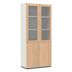 [هيغقوليتي] يرقّق [فيل كبينت] خشبيّة مع باب زجاجيّة