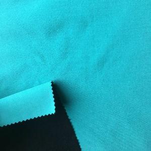 100% polyester laminé tissu stretch Laine Polaire Tissu à carapace molle pour les vestes