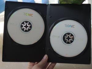 Singoli/doppi lati del buon di qualità DVD contenitore di plastica di coperchio 9mm DVD