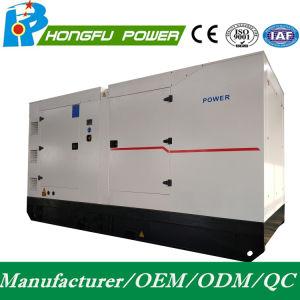 Gruppo elettrogeno diesel elettrico silenzioso standby di potere 600kw/750kVA con il motore di Shangchai Sdec