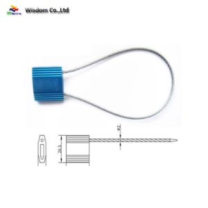 Sicherheits-Kabel-Dichtungs-Verschluss für Schmieröltank-Transport-Kabel-Dichtungs-Bodied Kabel-Sicherheits-Aluminiumdichtung