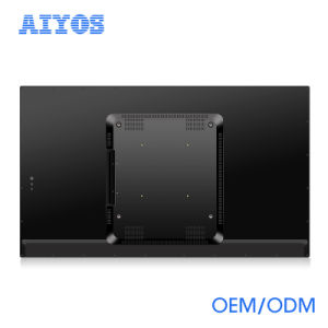 Montagem em Parede de 42 polegadas Monitor LCD de publicidade com tela sensível ao toque