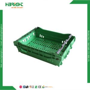 記憶の記号論理学ボックスFoldableプラスチック木枠の折りたたみ野菜プラスチック大箱を折る新しいPP