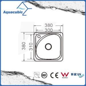 Gootsteen van de Kom van de Keuken van het Roestvrij staal van Moduled van Aquacubic de Enige (ACS3835B)