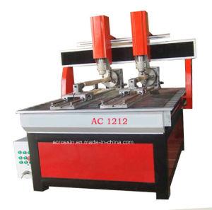 기계장치를 새기는 두 배 스핀들 CNC 나무