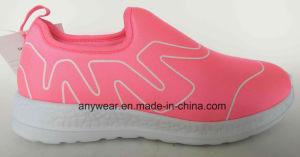 2018 Venta caliente tejido Spandex Gimnasio de calzado deportivo zapatilla zapatillas para hombres y mujeres (203)