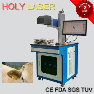 Material de couro gravura máquina de marcação a laser de CO2