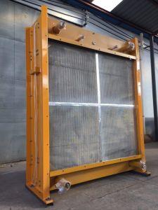 ディーゼル発電機のためのAlumiumのひれ付き管のラジエーター