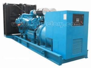 groupe électrogène 654.35kw/818kVA diesel silencieux avec l'engine de Perkins