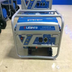 100% eléctrico de cobre de 7kw motor generador de gasolina de 380V/ Generador Gasolina