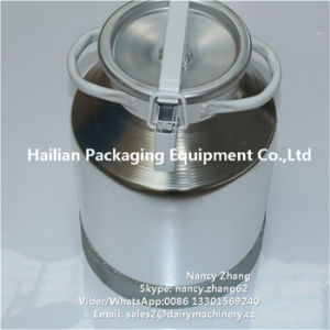 Molkerei Factory Aluminium Milk Can für Fresh Milk Transport
