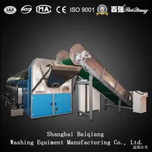 Machine de lavage à linge commerciale Système de lavage au tunnel Laveuse à tunnel continu